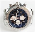BREITLING A13370 SUPER AVENGER MEN'S CHRONOGRAPH STAINLESS STEEL WATCH